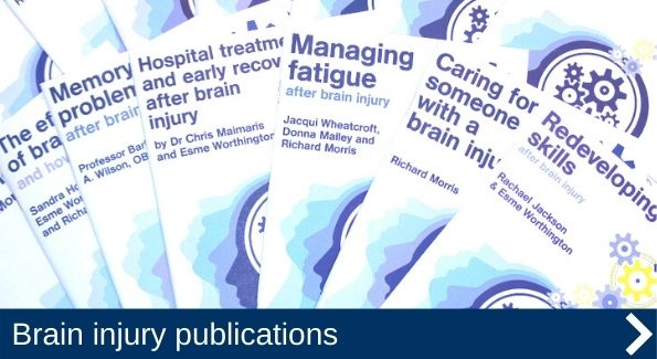 Our award-winning brain injury publications